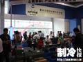 泰兴市精创企鹅冷冻设备厂展位上客商云集