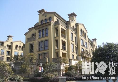 """工程项目""""檀香山别墅"""""""