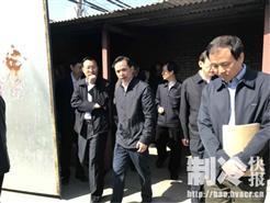北京市副市长视察通州区采暖项目,纽恩泰空气能设备获高度赞扬