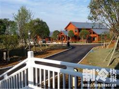 8000�O别墅酒店冷暖+热水工程,为什么选择同益空气能?