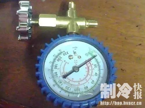 制冷剂压力表你了解多少?