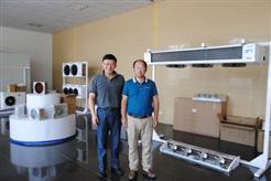 国内中高端冷风机将迎黄金发展时期 《冷博会市场行》走进泰州伊士班尼亚