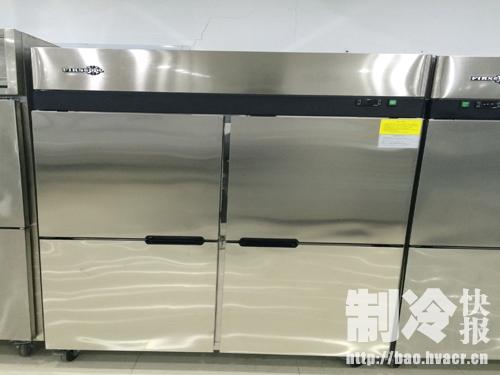 firscool咖啡店四门冰箱[bīngxiāng][bīngxiāng]firscool冷藏工作[shìqíng]台