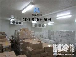 100�O的库房安装水产冷库,能存多少吨水产?