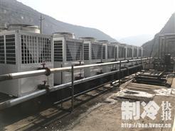 同益空气能山西灵石煤矿采暖系列工程开始运行服务