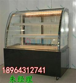 烘培店蛋糕展示柜一般都采用哪种材质?