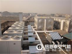 酒店搭配空气能热泵成潮流,给顾客提供舒适热水