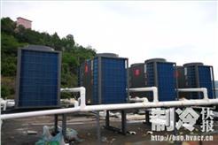 酒店用空气能热泵供热水 稳定又省钱