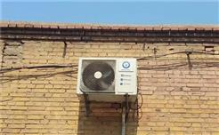 邯郸一农户采用空气源热泵热风机采暖,升温快且使用方便