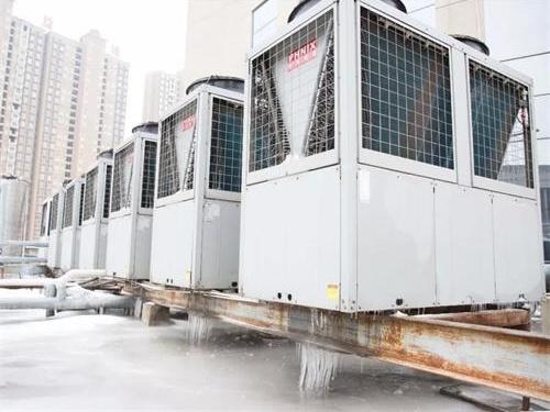 空气能热泵采暖机组结霜了怎么办?如何快速化霜?-空气能热泵厂家