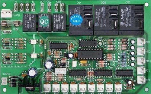 二,电脑板各部分电路的作用及检修技巧