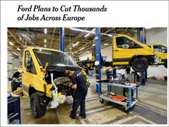 全球汽车寒冬,福特、路虎裁员数千人