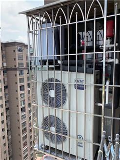 中广欧特斯二联供中央地暖空调进驻福建高端小区