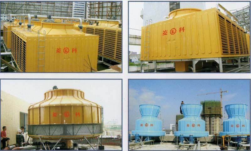 惠州河南岸沃尔玛广场冷却塔