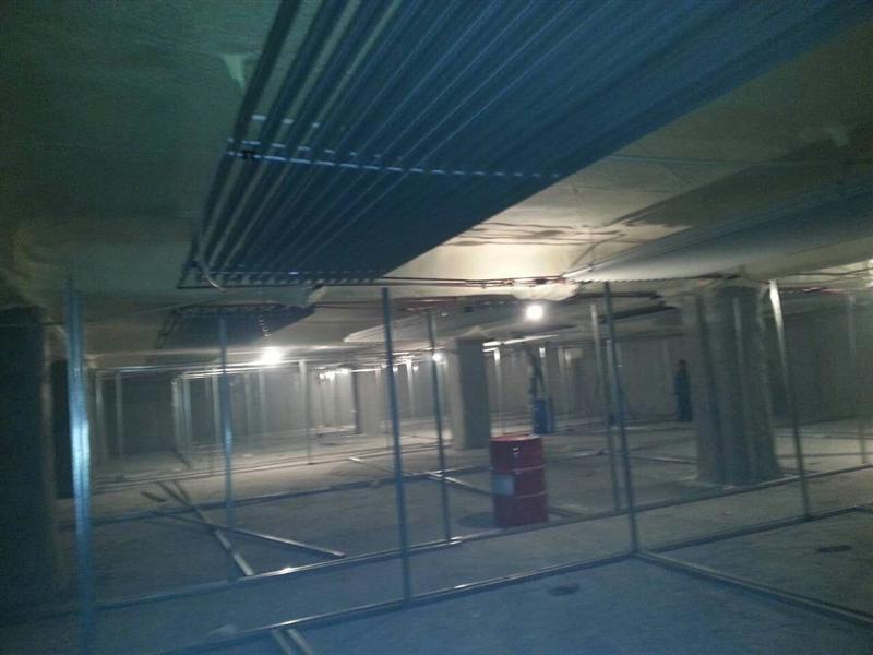 齐齐哈尔地下车库改造成冷库