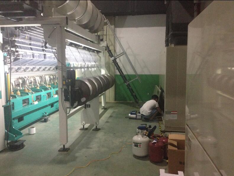 长乐鲜花针织厂节能改造