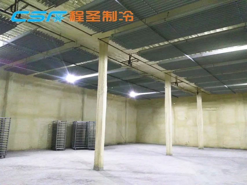山西万荣南张5000吨苹果冷库程圣制冷设计_安装