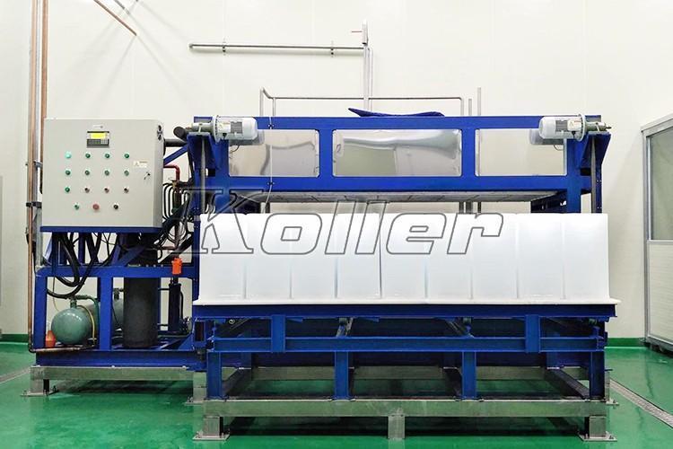 韩国 日产量5吨块冰机DK50