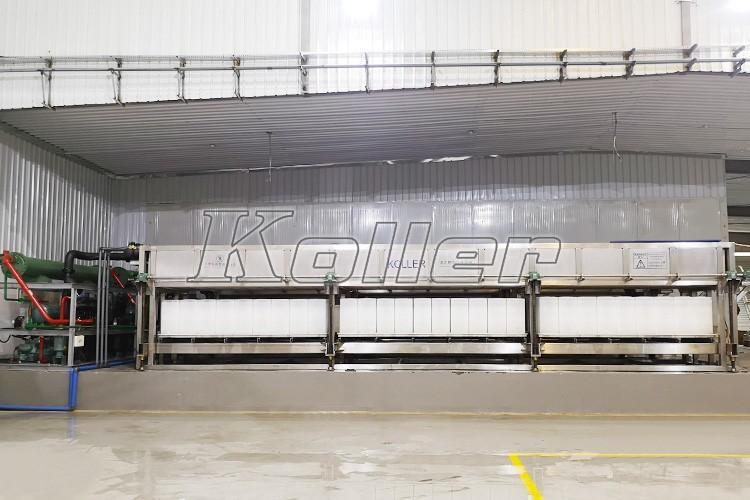 沙特 大型直冷式块冰机DK200(2台) 日产量40吨