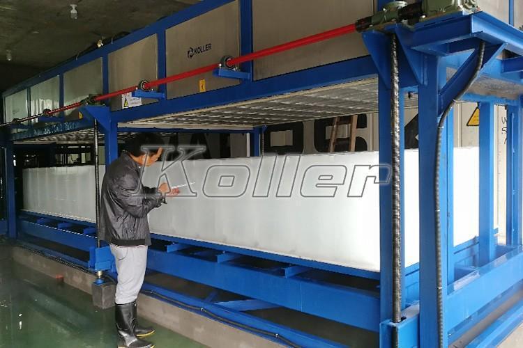 浙江 大型直冷块冰机DK150(3台) 日产量45吨