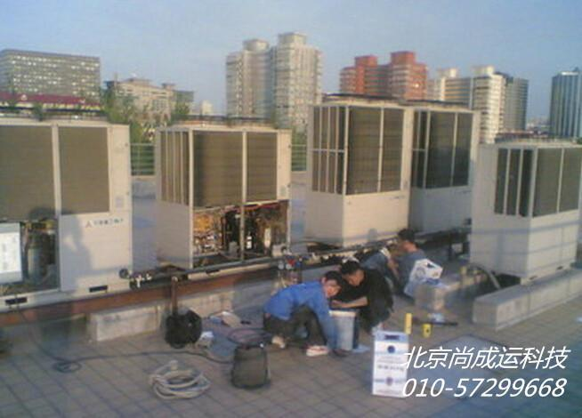 清华大学办公楼空调改造