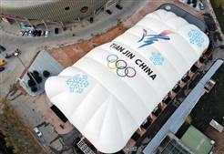 再续冰雪情缘:比泽尔助力天津奥林匹克中心滑冰馆